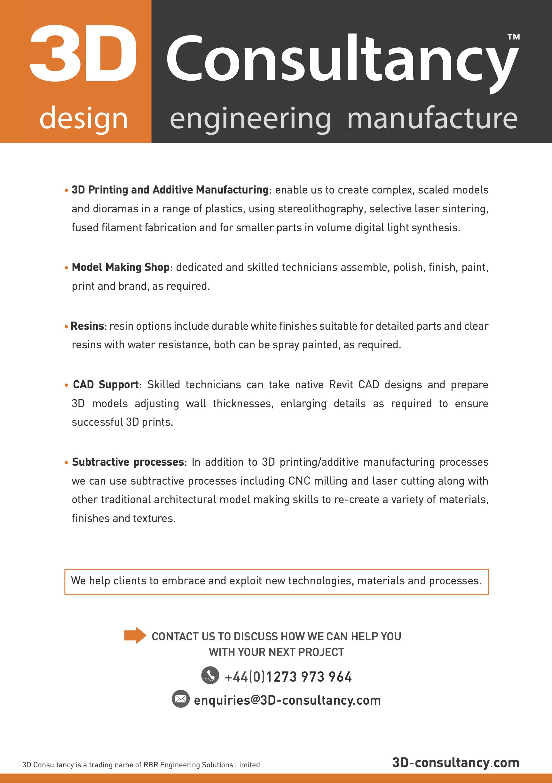 Architecture A4 leaflet pg2