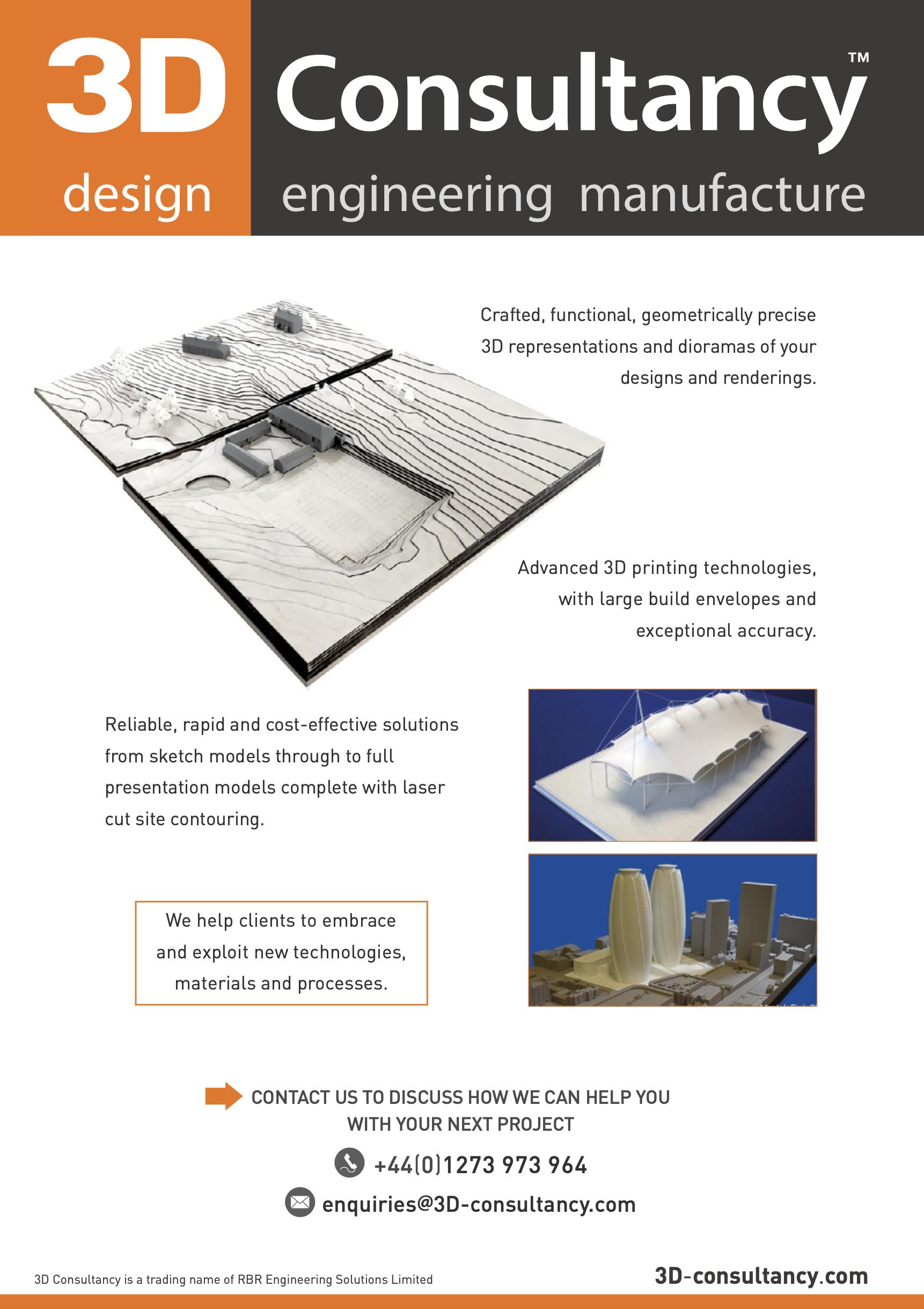 Architecture A4 leaflet