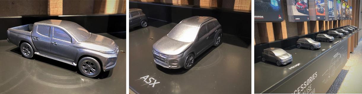 3D Scanning Mitsubishi 3D Scanning models
