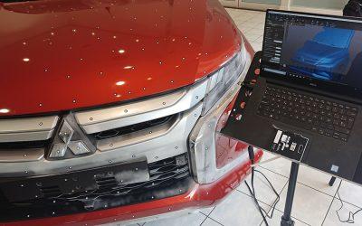 Mitsubishi 3D Scanning L200