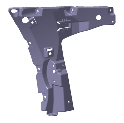 3D modelled in CAD