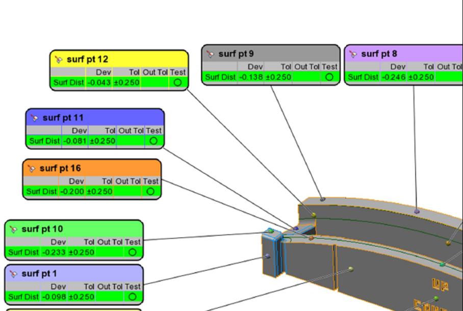 3D printed tools and dimensional report1